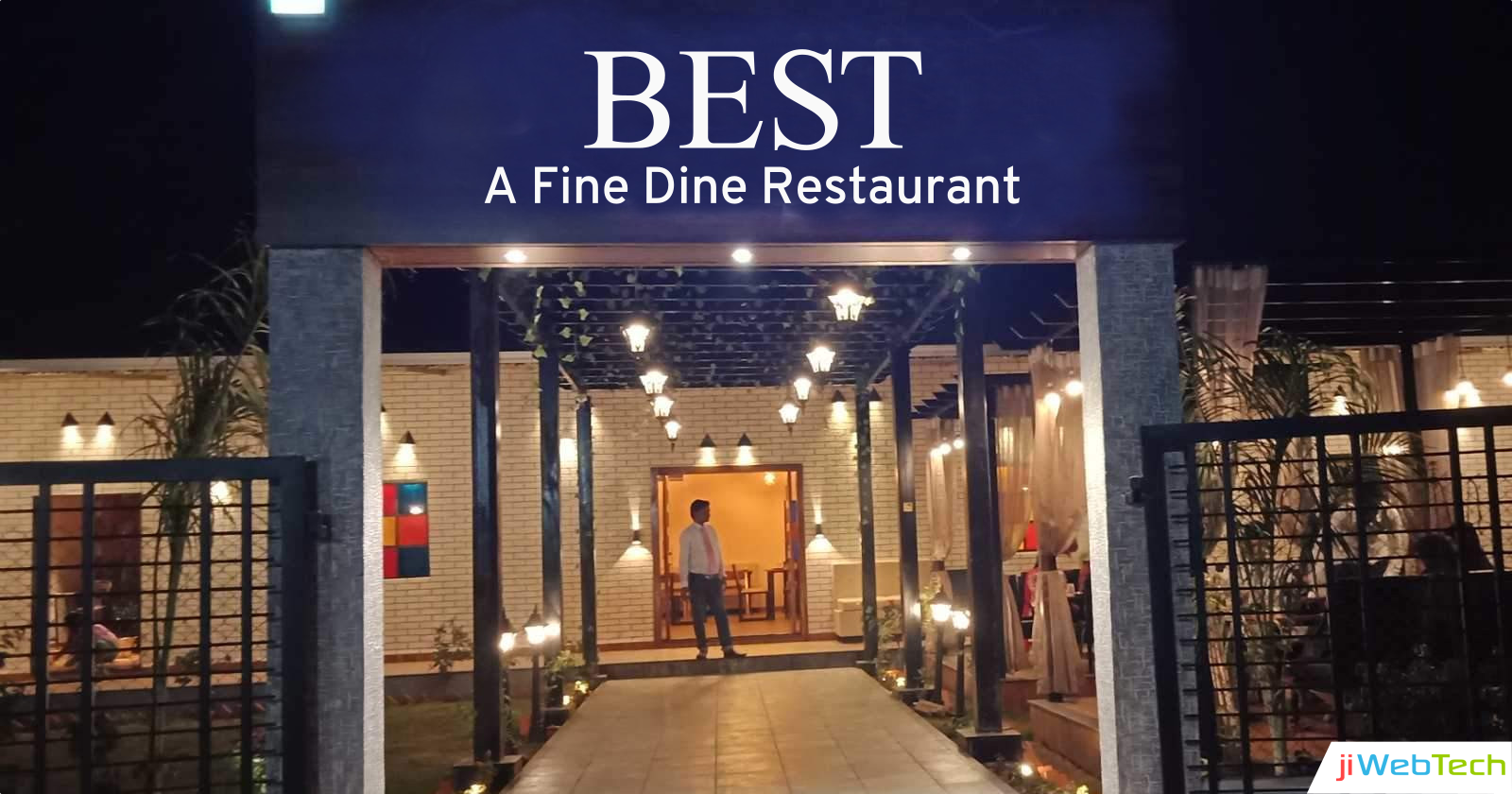 jiWebTech Offers POS Software Solution for Best Fine Dine Restaurant