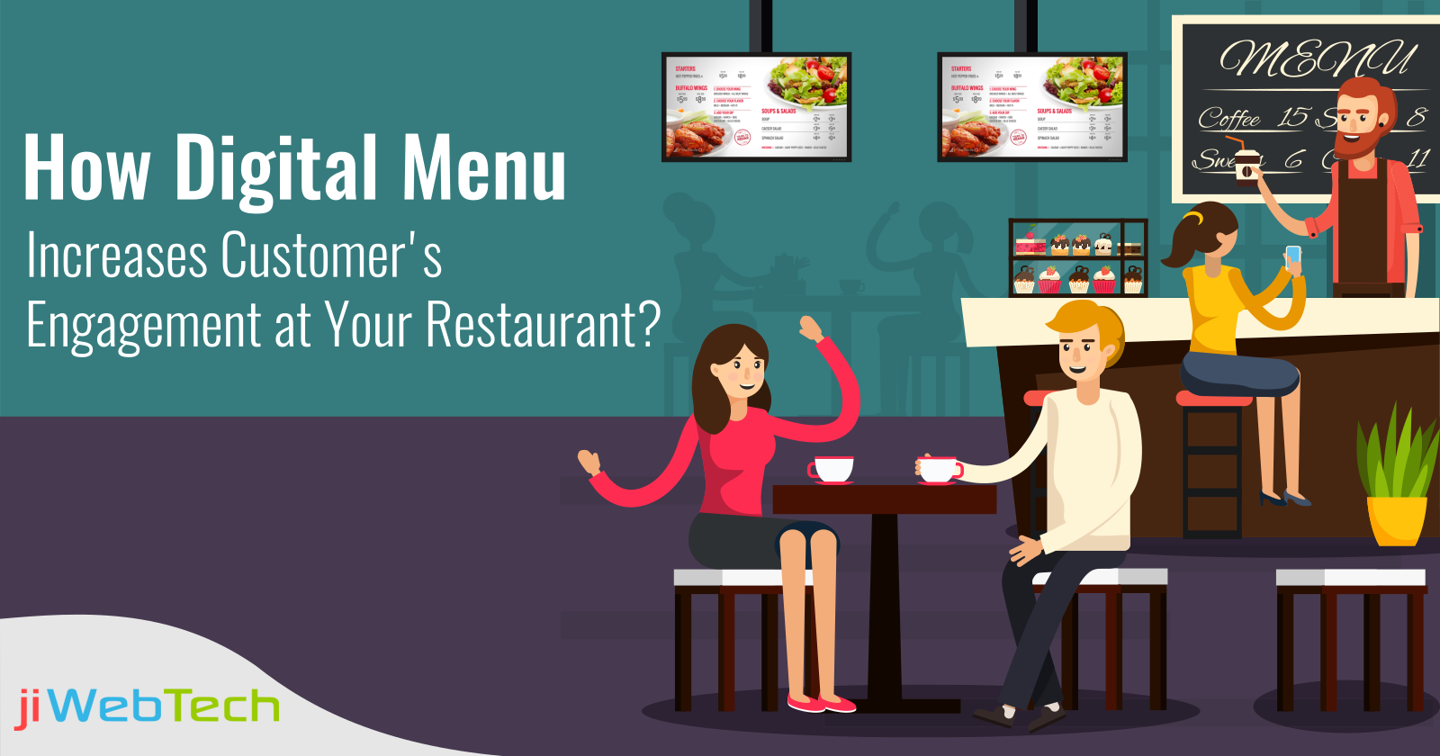 How Digital Menu Increases Customer's Engagement at Your Restaurant?