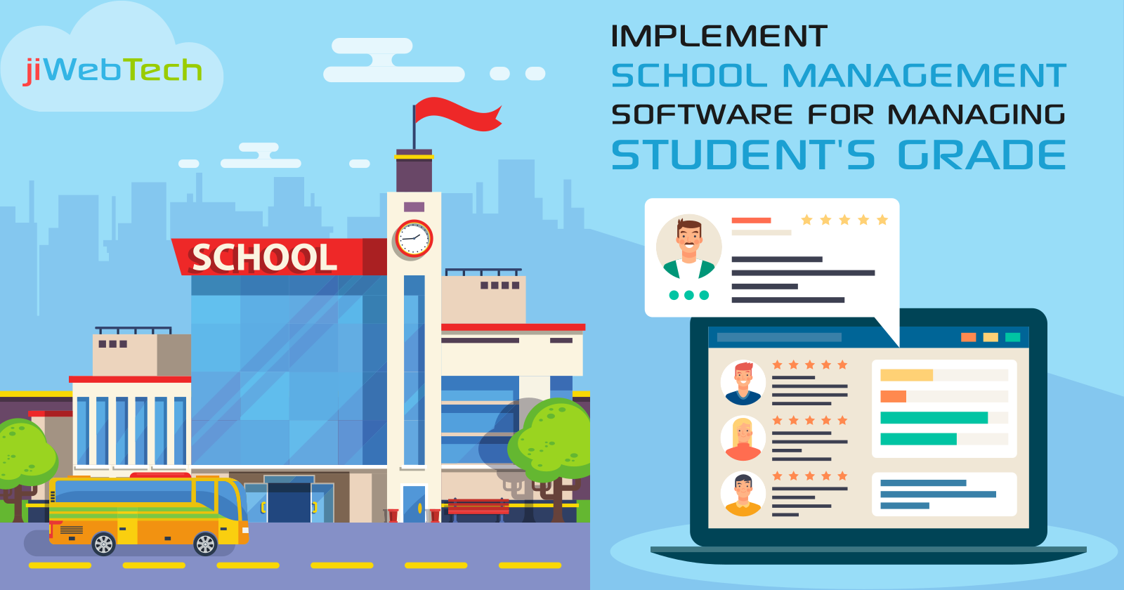 Implement School Management Software For Managing Student's Grade