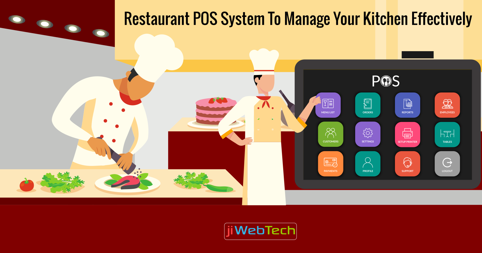 How Does A Restaurant POS Software Help In Kitchen Management?