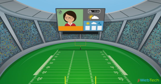 Digital Signage: Enhancing the Stadium Experience Efficiently