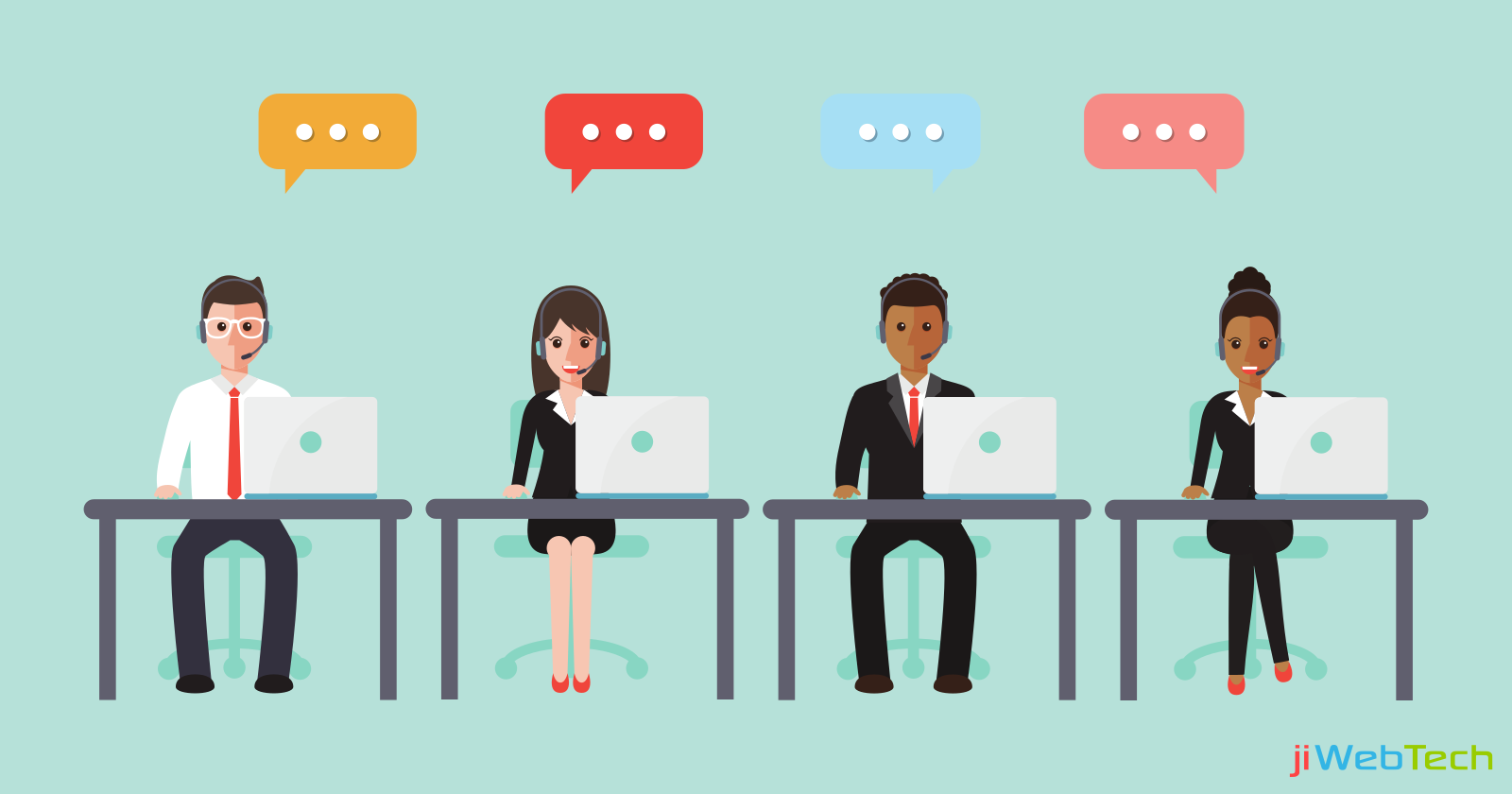 What an Ideal Live Chat Team looks Like?