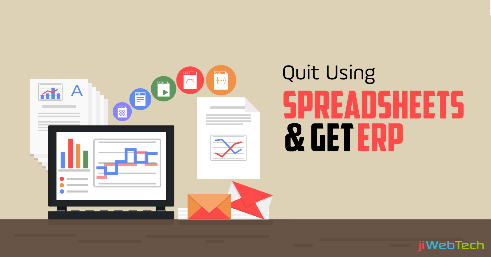Signs to Quit Using Spreadsheets and Get an ERP!