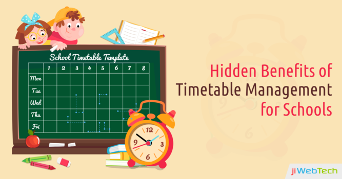 Importance of Timetable Management System for Schools